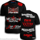 Stryker Walkout Sponsored T-Shirt UFC Boxing MMA Muay Thai W FREE Tapout decal