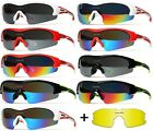 [XLINE] XL842S Sports Sunglasses SKI CYCLING RUNNING Polycarbonate Mirrored TR90