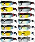 [XLINE] 902 Big SIZE Sports Sunglasses Mirrored CYCLING Outdoor One Lens