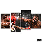 Boxing Mike Tyson  Sports BOX FRAMED CANVAS ART Picture HDR 280gsm