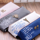Vintage Canvas Stationery Storage Pen Pencil Case Coin Purse Pouch Bag Cosmetic