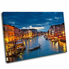 Venice Grand Canal Canvas Wall Art Print Framed Picture PREMIUM QUALITY