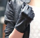 lady's wrist three small buttons style top quality goat leather gloves last pair