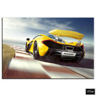 McLaren P1   Cars BOX FRAMED CANVAS ART Picture HDR 280gsm