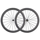 700C 50mm Deep Carbon Tubular Wheelset for Road Bike Powerway Carbon Hub