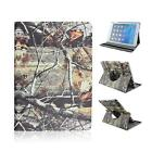 Tree Branch Camo(#1) Rotating PU Protective Cover Case for iPad Mini 2/3/4 Air