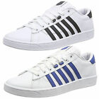 Mens K-Swiss Hoke Trainers Iconic Stripe Footwear Leather Low Top Lace Up Shoes
