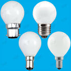 Opal Golf Round Dimmable Standard Light Bulbs 25W 40W 60W BC ES SBC SES Lamps