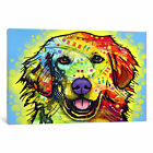 Dean Russo Golden Retriever Canvas Art Print