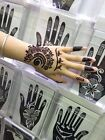 henna tattoo stencil temporary airbrush painting hand finger templates