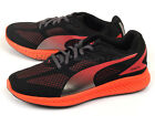 Puma Ignite Mesh Wn's Black-Cayenne Sportstyle Womens Running Shoes 188585 01