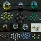 Wholesale Faceted Class Crystal Ball Bead Loose Beads Jewelry Making Blue Green