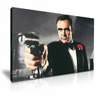 007 JAMES BOND Sean Connery Canvas Comics Icon Framed Print ~ More Size £36.99 GBP
