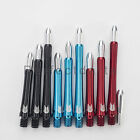 5 x SETS TARGET GRIP STYLE DART STEMS SHAFTS - Aluminium Pinch Grip - 3 Colours