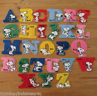 1 - Iron on Patch - Snoopy Alphabeth - 4cm - single Letters -  Sewing/Applique