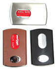 Wholesale Lot Rfid Blocking Heavy Duty Stainless Steel Card Case 3 Mixed Color