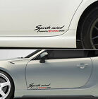 SPORTS MIND PRODUCED BY TOYOTA SPORT #3 Corolla GT 86 Decals Stickers Graphics I
