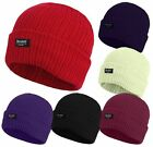 Ladies 3M Thinsulate Insulated Fully Fleece Lined Hats Beanie Winter Thermal hat