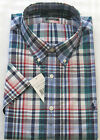 RALPH LAUREN SHORT SLEEVE CUSTOM FIT CHECKED SHIRT IN SIZE SMALL