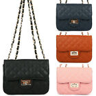 Womens Lady Fashion Handbag Shoulder Bag Tote Purse Faux Leather Messenger Bags