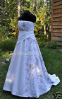 NEW Camo & Beaded lace Wedding Gown/dress SATIN camo- MADE ONLY IN USA!