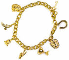 LUCKY CHARM BRACELET - STAINLESS STEEL 18K GOLD PLATED