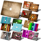 "Wood Painting Hard Case Cover +KB +SP For Macbook Pro Air 11""13""15"" Retina 12"""