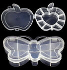 New  Style Apple Butterfly Cells Storage Box Case for Rainbow Kit Rubber Charms
