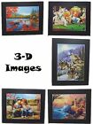 """Lenticular 3-D Hologram Wall Pictures 20"""" x 16"""" Many Style Choices Available NEW"""