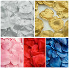 Pack 288 Fabric Rose Petals Wedding Scatter Table Aisle Confetti