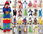 HOT Unisex Animal Onesi Unicorn Tenma Kigurumi Pajamas Cosplay Costume 2017