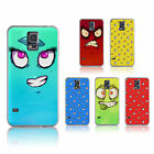 Googly Eyes Fun Crazy Face Cartoon Emoji Emoticon Hard Plastic  Case Cover