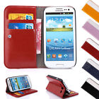 Leather Wallet Flip Case Cover Stand For Samsung Galaxy S6 S5 S4 Note 4 3 2