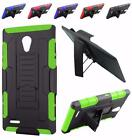 For ZTE Obsidian Z820 Advanced Kickstand Holster Cover Case