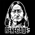 INDIAN RENEGADE (vintage pendant handmade poster chief art print spirit) T-SHIRT
