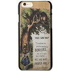 Alice in Wonderland with Tardis Style Cover Case For Apple iPhone 6 4.7 / 6 plus