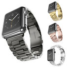 New Replacement Stainless Steel Strap Band Clasp for Apple Watch iWatch 42/38mm