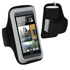 For HTC One M7 M8 M9 X Desire 626s 610 510 Gym Sports Running Armband Case Cover