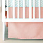 Solid Pattern Straight Crib Skirt Solid Color