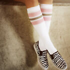 Oldschoolsocks by Spirit of 76 | the light pink Greys on white Hi | Roller Derby