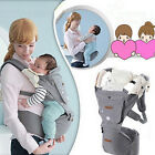 Newborn Infant Baby Carrier+Hipseat+Waist Belt+Sunshine Hood Wrap Sling Backpack