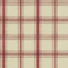 Waverly Pantry Plaid color Red Printed Decorative Fabric CHOOSE