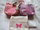Girls Butterfly Bag/Purse Pick your colour Great stocking filler/ Gift