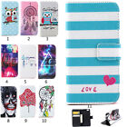 Fashion Cards Slots Flip Wallet PU Leather Case Cover For Samsung Galaxy Phone