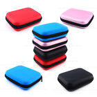"4 Colors 2.5"" External USB HDD Hard Drive Disk Carry Case Pouch Bag Fr PC GPS jk"