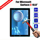 "For Microsoft Surface 3 10.8"" Premium Real Tempered Glass Screen Protector Film"