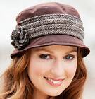 Downtown Abbey Style Hat - Ladies Irish Hat, Made in Ireland (KateWHB)