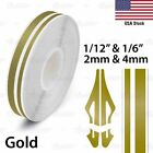 "24mm 1"" PinStripe PinStriping SINGLE Steamline PIN TAPE Decals Vinyl STICKERS"