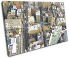 New York Aerial City SINGLE CANVAS WALL ART Picture Print