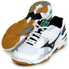 Mizuno Japan Women WAVE VALKYRIE Volleyball Shoes V1GC1552 White Green